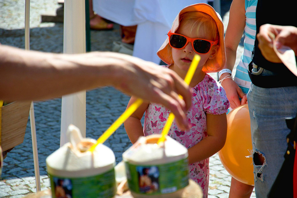 Prague Ice Cream Festival léto 2015 - Mladý kokos